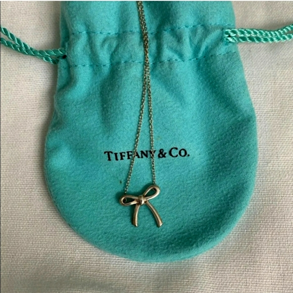 Tiffany Bow necklace retired
